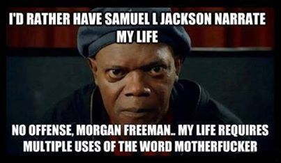 Samuel L Jackson to narrate life