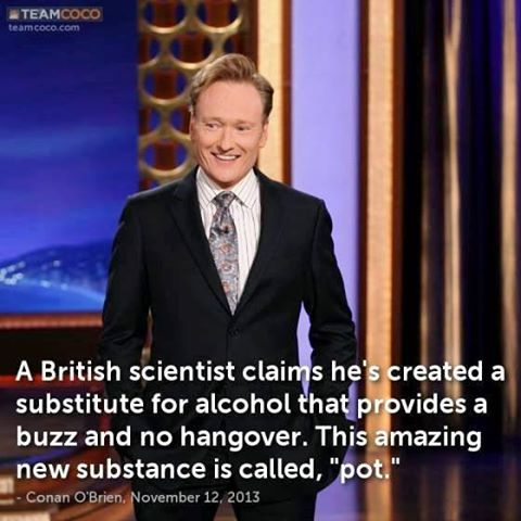 Conan - Substitute for alcohol