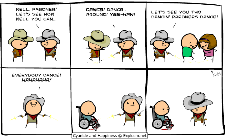 Cyanide and Happiness - Dance Pardner