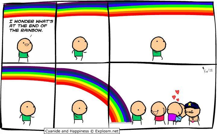 Cyanide and Happiness - End of the rainbow