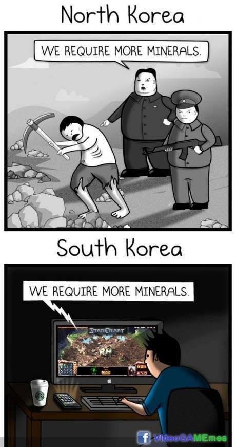 South Korean and North Korean differences