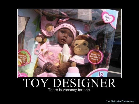 Job opening for a toy designer