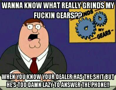 Family Guy - Grinds gears