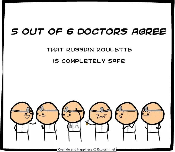 Cyanide and Happiness - Russian Roulette