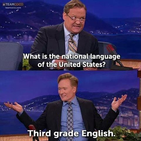 National language of the USA