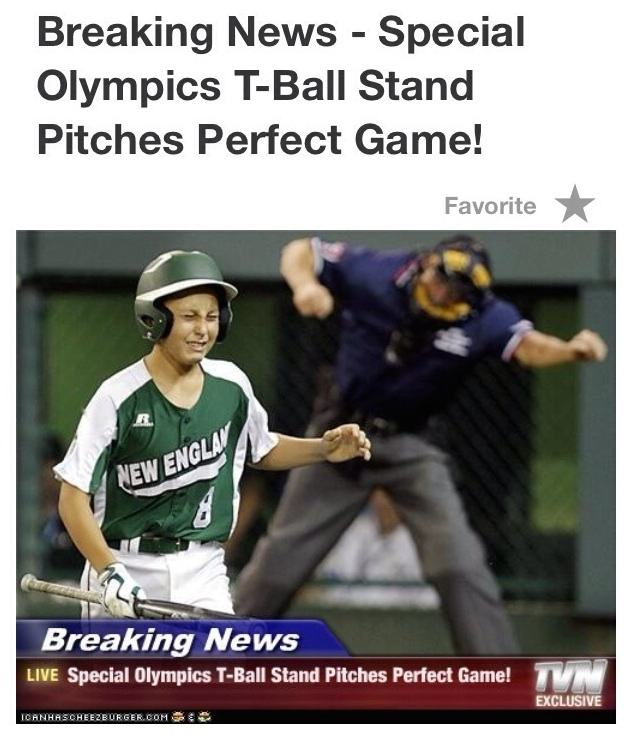 Pitched a perfect game