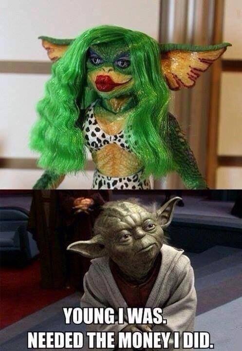 Yoda in his younger days