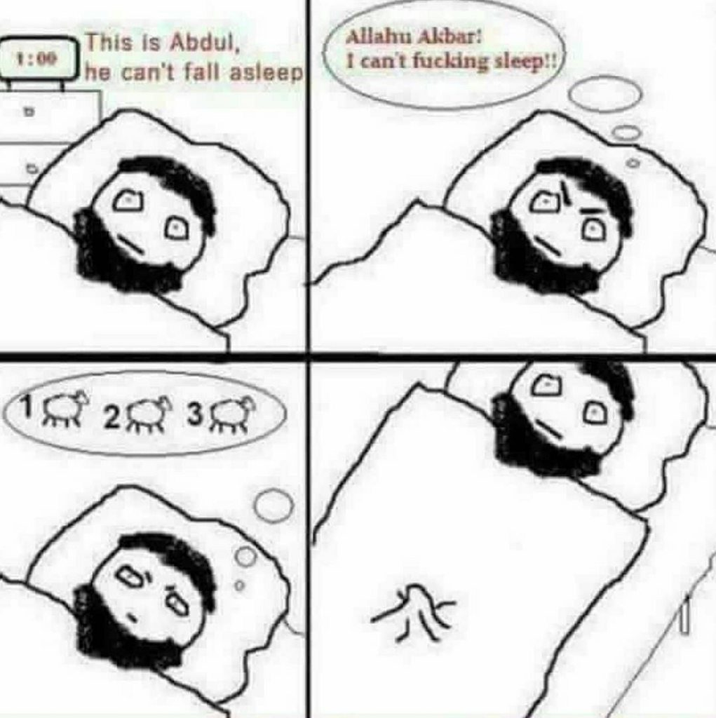 counting-sheep-to-go-to-sleep-muslim-joke