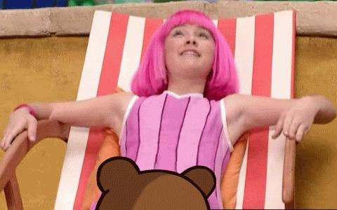 miley cyrus as hannah montana pedobear offensive animated gif