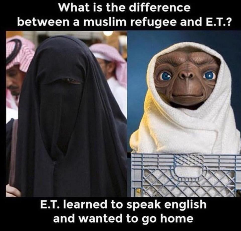 Difference between ET and a Muslim